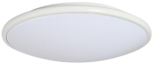 - AMAX Lighting LED-M002LWHT-W 17 x 3.5 in. LED Ceiling Fixture Saucer - White