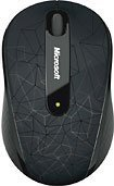 Microsoft Wireless Mobile Mouse 4000 - Cosmic Black