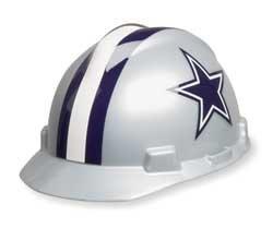 (MSA 818392 NFL Hard Hat, Dallas Cowboys, Gray/Blue )