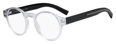 Dior Homme Black Tie 245 Crystal Black 0MNG Eyeglasses