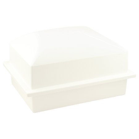 Basic Urn Vault Single- White Polymer, Holds One Urn for Burial (Vaults For Urns)