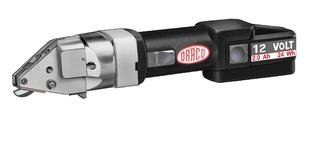 Draco Draco Cordless Metal Shear AK 3016 Ni-Cd 12 Volt Cordless Cutting Tool,Including 2 Batteries,1 Quick Charger SRC (250V.15min) and Box.