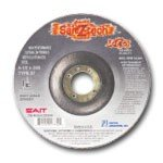 "United Abrasives 4"" Dia.,.045"" Width,5/8"" Bore,19,000 Max. RPM Raised Hub Type 27 Z-Tech High Performance Cut-Off Wheel"