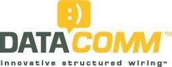 Datacomm 20-3425-al cat5e data jack, almond