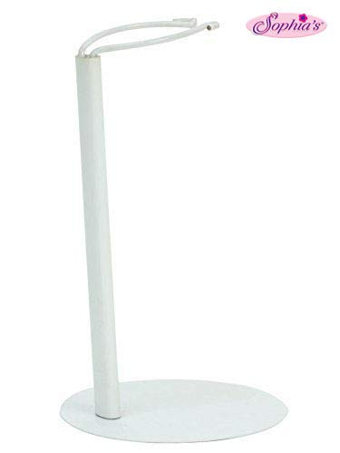 (Sophia's Doll Stand in White Metal, Sized for 18 Inch Dolls & American Girl Dolls, 18 Inch Doll Item)