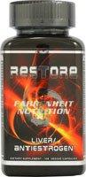 Fahrenheit Nutrition RESTORE foie anti-oestrogène - 108 capsules végétariennes (Quantité de 1)