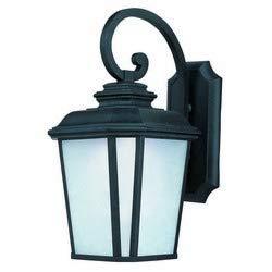 Maxim 65646WFBO Radcliffe Outdoor Wall Sconce, 1-Light LED 12 Watts, Black Oxide
