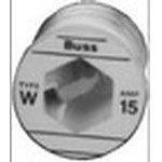 Fuse Plug Fast Acting 8A 125V Threaded Socket Plug 30.18 X 34.93mm Box, (Pack of 5) - W-8