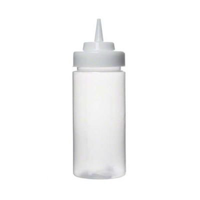 (Tablecraft 11663C Squeeze Bottle Wide Mouth Natural 16 oz (SET OF 24 PER CASE))