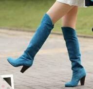 Grueso Shoe Botas Altas Mujer Casual Alto Phy De 红色 Con Tacón Calzado q6dH4IwU