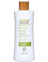 Simply Body Wash Sensitive Skin (Green Tea + Cucumber + Aloe Vera) 25 fl oz 750 ml