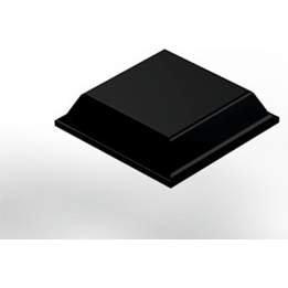 [해외]3M Bumpon SJ5508 블랙 스퀘어 형 범퍼 - 폭 0.5 x 높이 0.12 (64 패드 당 가격)/3M Bumpon SJ5508 Black Square Shaped Bumper - 0.5 in Width x 0.12 in Height (price per pad of 64)