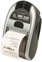 Zebra Technologies M2I-0UN00010-00 Series IMZ220 Mobile Printer, 128MB/128MB MEMORY, US/Canada English Character Set, USB Port, 802.11A/B/G/N Radio, US Power Plug