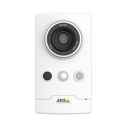 (Axis Communications, 0891-001 Network Camera, Wireless, Cube, 2 MP, WDR, Day/Night, 1920 x 1080 Resolution, PoE)