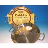 Guison 070990 Stainless Steel Paella Pan