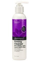 Derma-E Firming DMAE Cleanser with Alpha Lipoic and C-Ester, 6 (Dmae Foaming Facial Cleanser)
