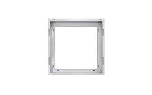 ASD 2x2 FT Edge-Lit Flat Panel LED White Surface Mounting Frame Kit Low Profile