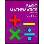 Basic Mathematics, Walter C. Brown, 1566379989