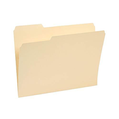 (Staples 221689 3-Tab File Folders Letter Assorted Position Manila 250/Box)