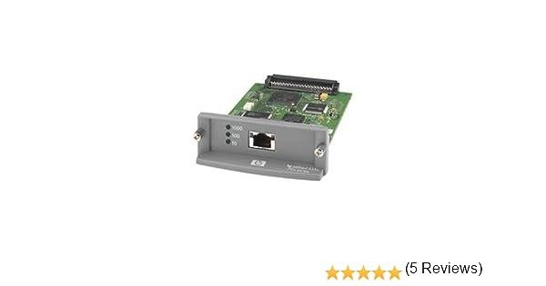 HP Jetdirect 635n - Servidor de impresión (Ethernet LAN, IEEE 802.3, IEEE 802.3ab, IEEE 802.3u, 10, 100, 1000 Mbit/s, SNMP v1/v2c/v3, 32 MB, 8 MB) Verde, Gris: Amazon.es: Informática