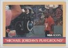 Michael Jordan (Basketball Card) 1990-91 NBA Hoops - [Base] #382