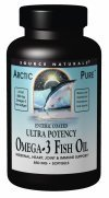 Source Naturals ArcticPure huile de poisson ultra 850mg, 120 Capsules