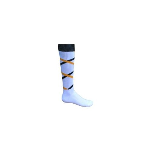 058c3d019357d Image Unavailable. Image not available for. Color: Red Lion Criss Cross  Adult Socks - Size 9-11