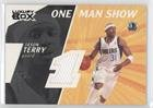 Jason Terry #14/25 (Basketball Card) 2005-06 Topps Luxury Box - One Man Show Relics - Courtside #OMSR-JTE