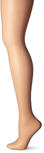 - CK Women's Matte Ultra Sheer Pantyhose with Control Top, Bare, Size A