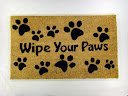 Kempf Wipe Your Paws Coco Doormat, Rubber Backed, 18 by 30 by 0.5-Inch by William F. Kempf & Son Inc.