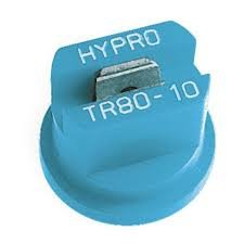 Package of 12 - Hypro Lurmark Total Range Flat Fan Spray Nozzle - 80 Degree - Light Blue - 1.0 GPM - TR80-10
