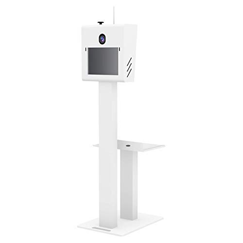 T11 2.5 Photo Booth Shell with Printer Stand, Fits Surface Pro 3, 4 or 6 - White (Cheap Booth Photo)