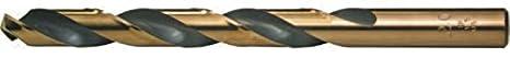 Viking Drill and Tool 49810 Type 643-UB 135 Degree Split Point Magnum Super Premium Jobber Drill Bit 9.40mm 5 Pack