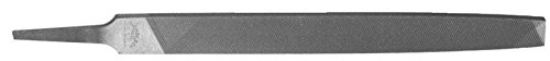 Drill America DIC Series Qualtech Carbon Steel American Pattern Smooth Cut Flat File, 8