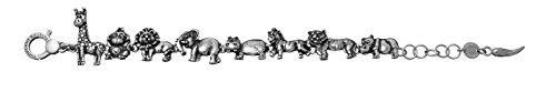 bracciale argento zoo Giovanni Raspini