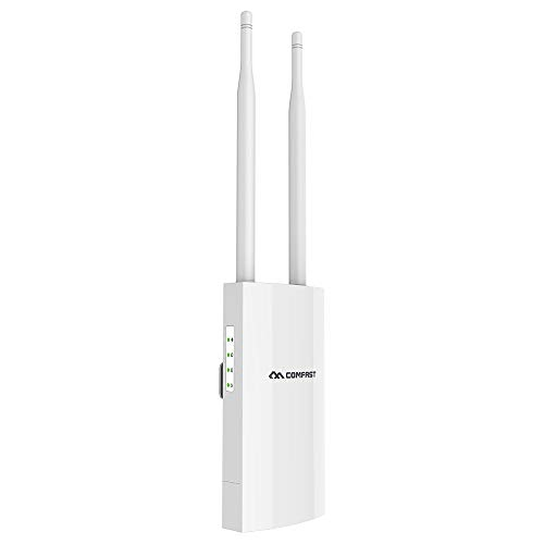 Outdoor Wireless Access Points with Poe, High Power 2.4GHz & 5.8GHz Dual Band 802.11AC Wireless WiFi Access Points/Router/Bridge, Used for Outdoor WiFi Coverage