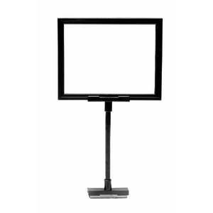 Black Retail Sign Holder, 8 1/2
