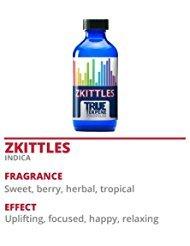 - TRUE TERPENE PROFILES ZKITTLES 2ML BOTTLE