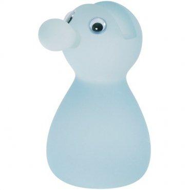 Brillenhalter Figur, blau