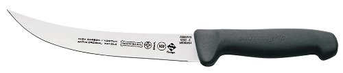 Mundial 5802-8 8-Inch Breaking Knife, Black
