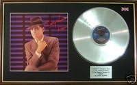 LP Platinum Disc /& Cover UK Music Awards Gary Numan Dance