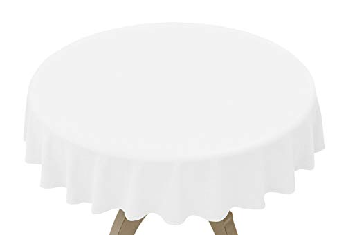 Disposable Plastic Table Covers (4 Pack, 84