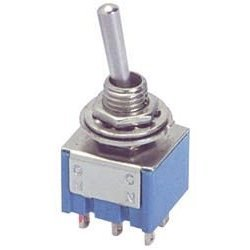 Mini Toggle Switch - DPDT On/Off Type (Mini Switch Dpdt)