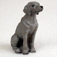 Weimaraner Mini Dog Collectible Animal Figurine