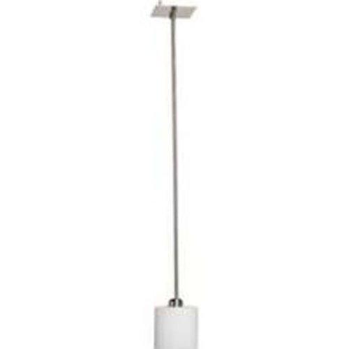 Artcraft Lighting Bristol 1-Light Rod Pendant Light, Brushed Nickel