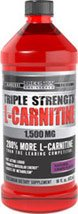 Vitamin World Triple Strength L-Carnitine, 1500mg, 16 fl oz Liquid, Natural Grape Flavor by Vitamin World