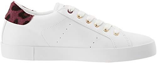 Jeans Donna Da R290 Scarpe Rosso rosso maculatobordeaux Ginnastica Detail Pony Sneakers Trussardi 7779 10OnxwdTqq