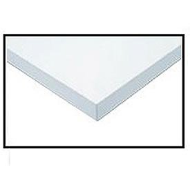 (Workbench Top - ESD Square Edge, White, 96