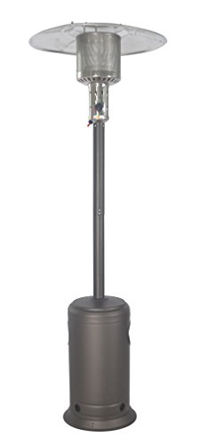 (LEGACY HEATING CAPH-7-S CAPH-7Smocha Patio Heater, Hammered Black)