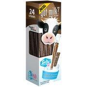 Chocolate Straws (Got Milk? Chocolate Magic Straws, 0.16 oz, 24 count(Pack of 2))